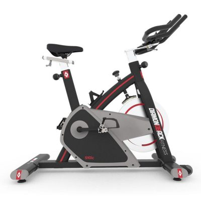 510Ic Diamondback Fitness Magnetic Indoor Cycle Trainer Side On White Background