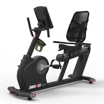 910Sr Diamondback Fitness Recumbent Magnetic Exercise Bike Front Left On White Background