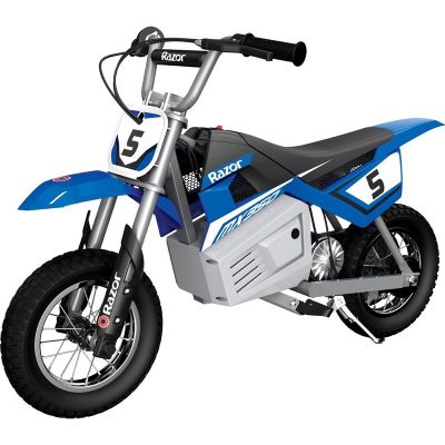 MX350 Dirt Rocket In Blue On White Background