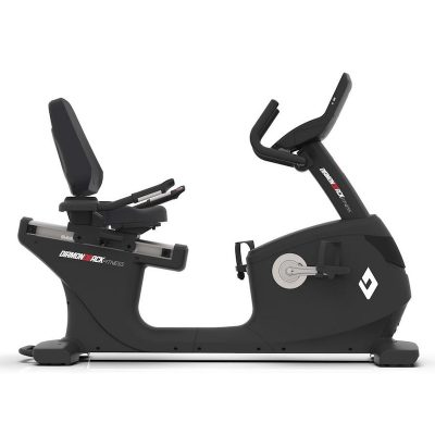 1260Sr Diamondback Fitness Recumbent Magnetic Exercise Bike Right Side On White Background